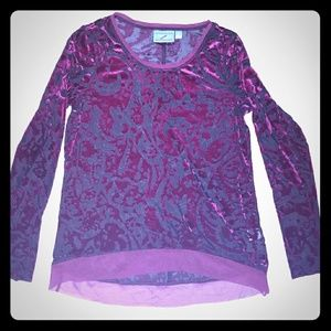 Simply Vera by Vera Wang textured top size M